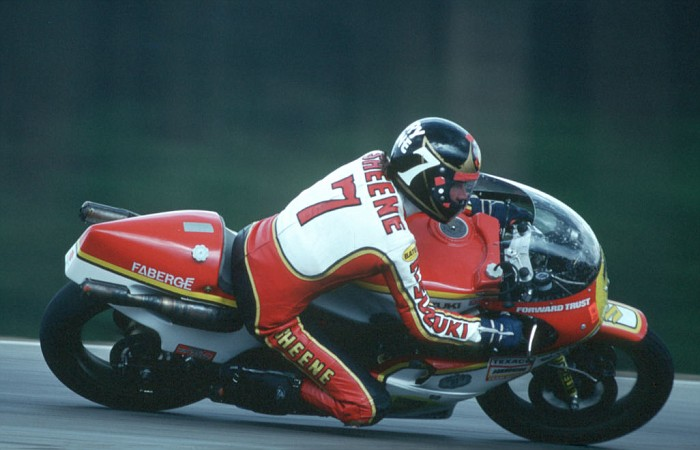 Barry Sheene. God. And that is not overstating it my friends.  I really shouldn't have to explain this, but if you 're Insurance Broker is not man enough to let you do Sporting Superstars then you are not an Icon.